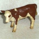 Schleich Fleckvieh Cow Calf Plastic Toy Animal Loose Used