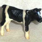 Schleich Cow Holstein Calf #13139 Plastic Toy Animal Loose Used Damaged