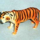 """S.H. 7"""" Long Plastic Tiger Toy Animal Figure Loose Used"""