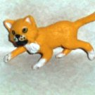 Topps 1998 PVC Cat Figure Toy Animal Kitten Kitty Loose Used