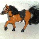 Kid Kore Plastic Horse with Saddle Loose Used