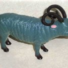 Toy Major Plastic Sheep Male Ram 1998 Loose Used