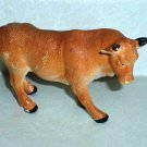 Toy Major Plastic Bull 1999 Cattle Cow Loose Used