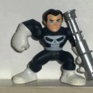 Marvel Super Hero Squad Punisher Action Figure Hasbro 2006 Loose Used