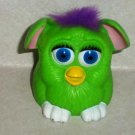 McDonald's Furbies Light Green Furby with Purple Hair Peek-A-Boo 1999 Happy Meal Toy Loose