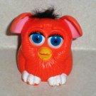 McDonald's Furbies Orange Furby with Black Hair Peek-A-Boo 1999 Happy Meal Toy Loose