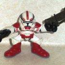 Star Wars Galactic Heroes Shock Trooper Action Figure Hasbro 2008 Loose Used