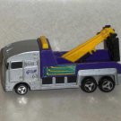 Hot Wheels Silver and Purple Tow Truck Hauler 1998 Mattel Loose Used
