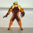 X-Men Series 5 Sabretooth Snarl & Swipe Action Figure Marvel 1993 Loose Used