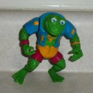 Teenage Mutant Ninja Turtles 1989 Genghis Frog Action Figure Playmates TMNT Loose Used B