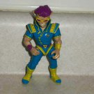Teenage Mutant Ninja Turtles 1991 Zak the Neutrino Action Figure Playmates TMNT Loose Used