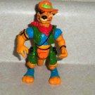 Teenage Mutant Ninja Turtles 1991 Walkabout Action Figure Playmates TMNT Loose Used