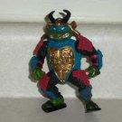 Teenage Mutant Ninja Turtles 1990 Leo the Sewer Samurai Action Figure Playmates TMNT Loose Used
