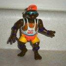 Teenage Mutant Ninja Turtles 1992 Spike 'n Volley Don Action Figure Playmates TMNT Loose Used