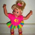 Casey Cartwheel Cheerleader Doll 1997 Toy Biz Loose Used