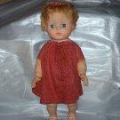 "Vintage 18"" Plastic Baby Doll Loose Used"