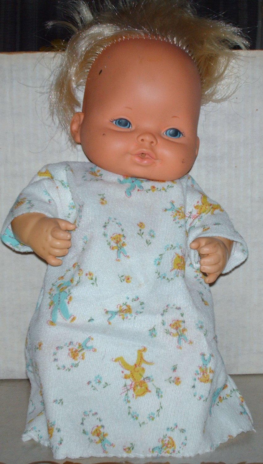 Vintage Bless You Baby Tender Love Doll Mattel 1974 Loose Used