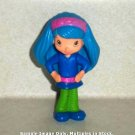 McDonald's 2010 Strawberry Shortcake Blueberry Muffin Doll Happy Meal Toy Loose Used