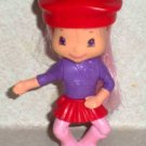 McDonald's 2007 Strawberry Shortcake Crepes Suzette Doll Happy Meal Loose Used