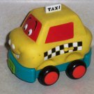 B. Wheeee-ls! Soft Cars Taxi Battat Parents Loose Used