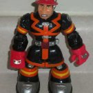 Fisher-Price C4347 Rescue Heroes Sam Sparks Figure Only  Loose Used