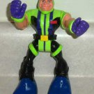 Fisher-Price #78309 Rescue Heroes Body Force Gil Gripper Figure Only  Loose Used