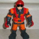 Fisher-Price #T7123 Hero World Rescue Heroes Hal E. Copter Figure Only Loose Used
