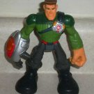 Playskool Major Powers and The Star Squad Star Fortress Action Figure No Magnet  Loose Used