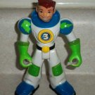 Fisher-Price #L1994 Planet Heroes Earth Ace Figure Only Loose Used