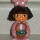 Dora the Explorer Easter Bunny Candy Holder 2006 Loose Used