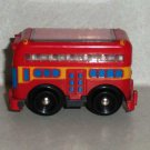 Fisher-Price Double-Decker Bus from #C6853 GeoTrax Rail & Road System Highview Tours Loose Used