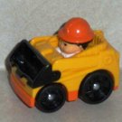 Fisher-Price #T5631 Little People Wheelies Loader 2009 Mattel Loose Used