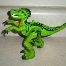 Fisher-Price M0266 Imaginext Shreds the Raptor Dinosaur Loose Used