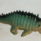"""Ankylosaurus 8"""" Plastic Toy Dinosaur Loose Used"""