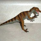 Carnegie Safari Ltd. Brown Velociraptor Dinosaur Figure 2002  Loose Used