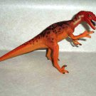 Carnegie Safari Ltd. Orange Velociraptor Dinosaur Figure 2002  Loose Used