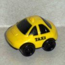McDonald's 1997 FIsher-Price Taxi Cab U3 Happy Meal Toy Loose Used