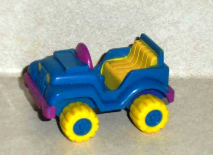 McDonald's 1988 Garfield the Cat 4-Wheeler Car Only Happy Meal Toy Loose Used