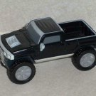 McDonald's 2006 Hummer H3T Pick-Up Black Happy Meal Toy Loose Used