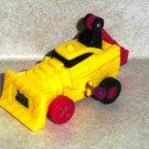 Wendy's 1995 Techno Tows Shovel Wind Up Vehicle  Kids Meal Toy Loose Used