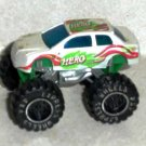 Express Wheels 4x4 White Car Hero Loose Used