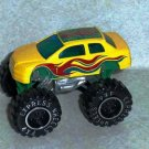 Express Wheels 4x4 Yellow Car  Loose Used