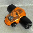 McDonald's 2004 Hot Wheels Fatbax Silhouette Car Happy Meal Toy Loose Used