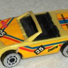 Remco 1986 Plastic Race Car #25 Team Champion Loose Used