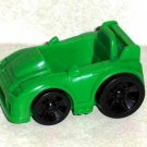 Fisher-Price Green Race Car Mattel Loose Used
