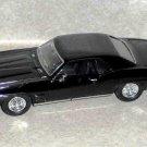 Road Signature Diecast 1969 Pontiac Firebird Trans Am Black Incomplete Loose Used