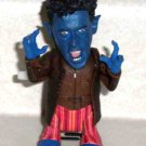 Marvel Twist-'Ems Tail Whipping NightCrawler Figure X-Men Toy Biz 2004 Loose Used