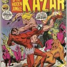 Ka-Zar 1974 series #16 Marvel Comics June 1976 Very Good