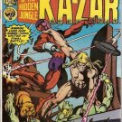 Ka-Zar (1974 series) #20 Marvel Comics Feb. 1977 Very Good