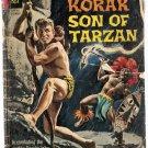 Korak Son of Tarzan (1964 series) #6 Gold Key Comics Dec. 1964 Poor